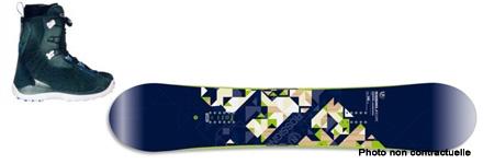 Snowboard - Pack NOIR  >Prix 141,90 euros -15%